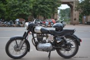 Bulleteers ride from Gwalior to Kanher Jhiri, near Ghatigaon on Shivpuri Road