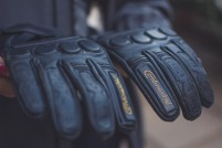 royal enfield continental gt short leather gloves review