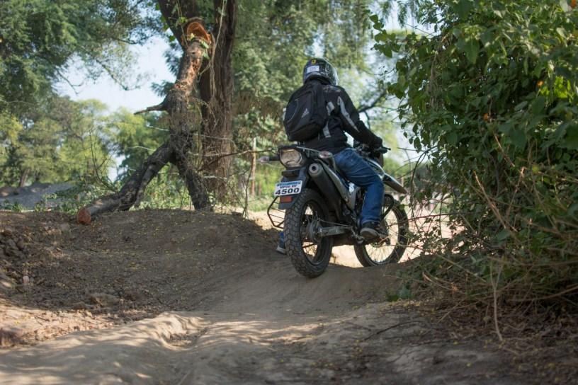 Bulleteers ride from gwalior to Jain Temple Cluster, Sonagir