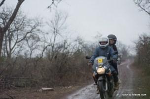 mragendra chaturvedi of bulleteers riding to kanher jhiri, near Ghatigaon, Gwalior