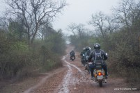 bulleteers ride to kanher jhiri, near Ghatigaon, Gwalior