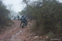 bulleteers ride to kanher jhiri, near Ghatigaon, Gwalior