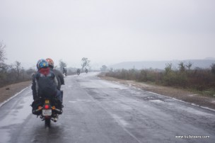 bulleteers riding back from kanher jhiri to gwalior by the shivpuri road