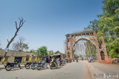 Bulleteers, the riders group of Gwalior, celebrate Kickstart Day with ride and lunch in Gwalior