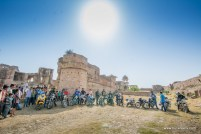 Bulleteers at the Gohad fort, during out breakfast ride on sunday