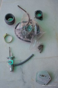 the content of the indimotard greasehouse efi to carburetor conversion kit for royal enfield motorcycles