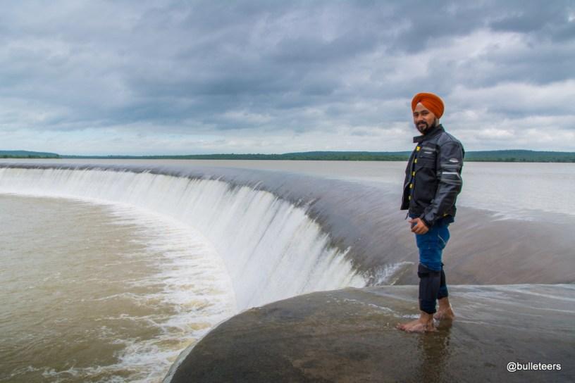 Kaketo Dam Overflow