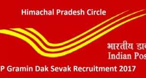 Bumper Recruitments in the Postal Circle Department of Himachal Pradesh 2017
