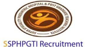 SSPHPGTI Jobs in Noida 2017, Apply soon