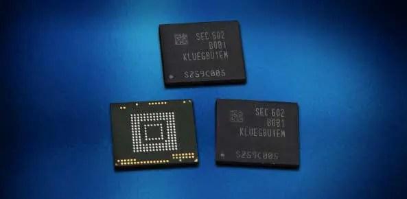Samsung Flash Memory with 256GB of Storage