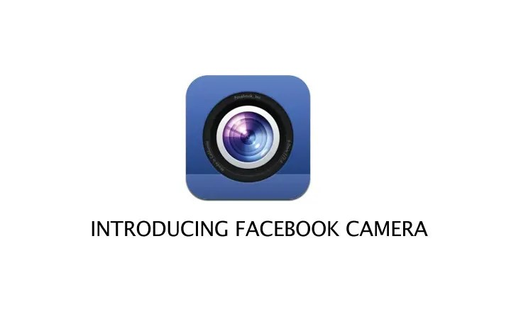 Mark is Working on the New Facebook Camera App