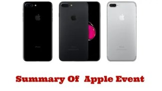 Apple Event Summary Case Study You'll Never Forget