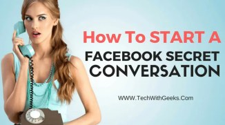How To Start Facebook Secret Conversation