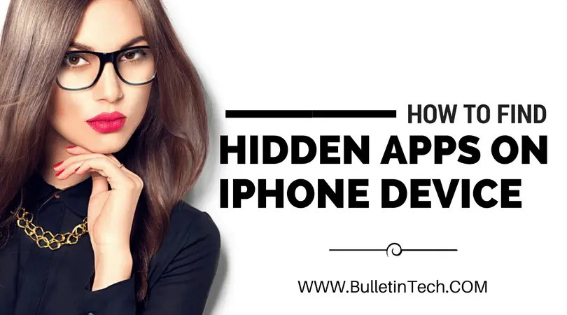 How To Find Hidden Apps On iPhone