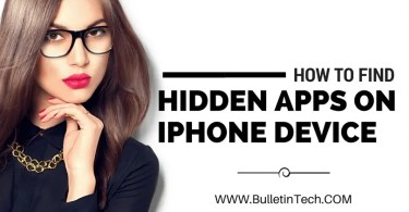 find hidden apps on iphone