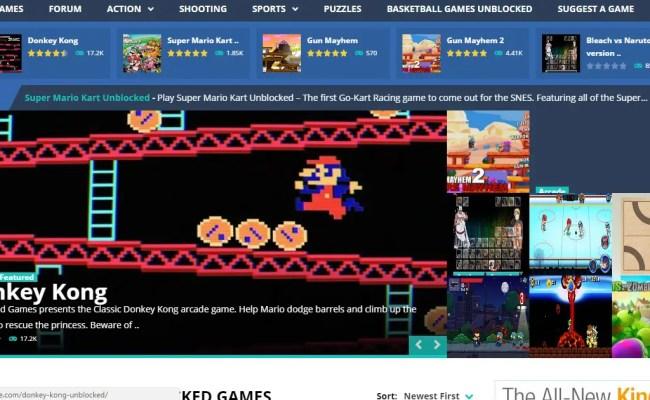 Top Five Best Unblocked Games Websites Bullet In Tech News