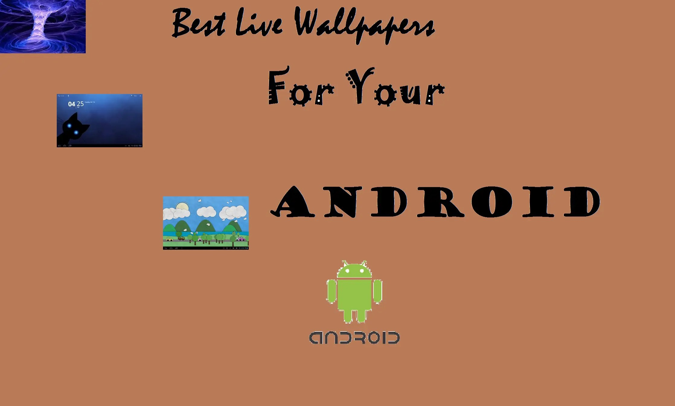 the best live wallpapers for your android
