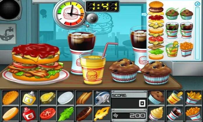 Cooking game for girls