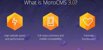 The Best Quick Website Builder -Moto CMS 3.0