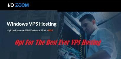 IO Zoom Windows VPS Hosting – The Best Windows VPS Hosting