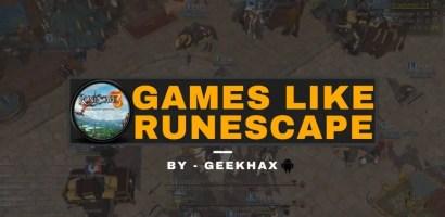 Top 10 Runescape Game Alternatives