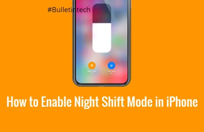 How to Enable Night Shift Mode in iPhone