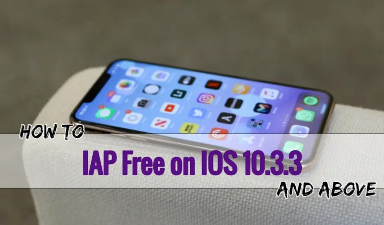 Install IAPFree on IOS 10.3.3 & Above