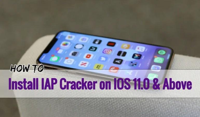 Install IAP Cracker on IOS