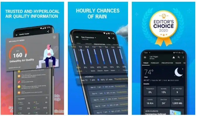 Best Android Weather App Weather Widgets