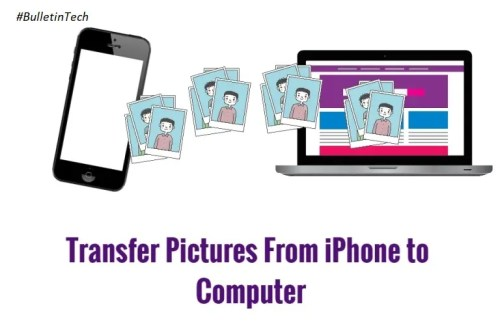 Transfer Pictures From iPhone to Computer
