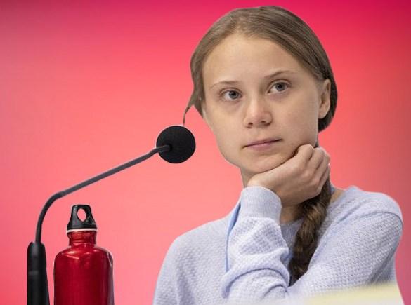 Greta Thunberg at Davos