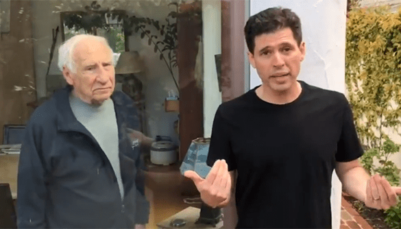 Mel Brooks AND Max Brooks