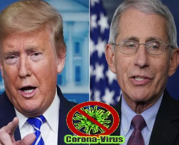 Trump Says He Contradic With Fauci On Testing Capabilities