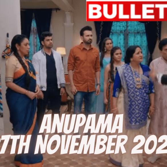 Anupama 27th November 2020