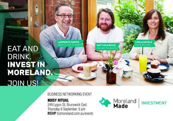 Eat and Drink. Invest in Moreland