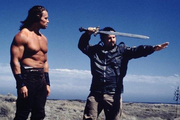 John Milius and Arnold