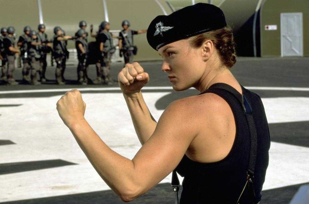 dina meyer starship troopers