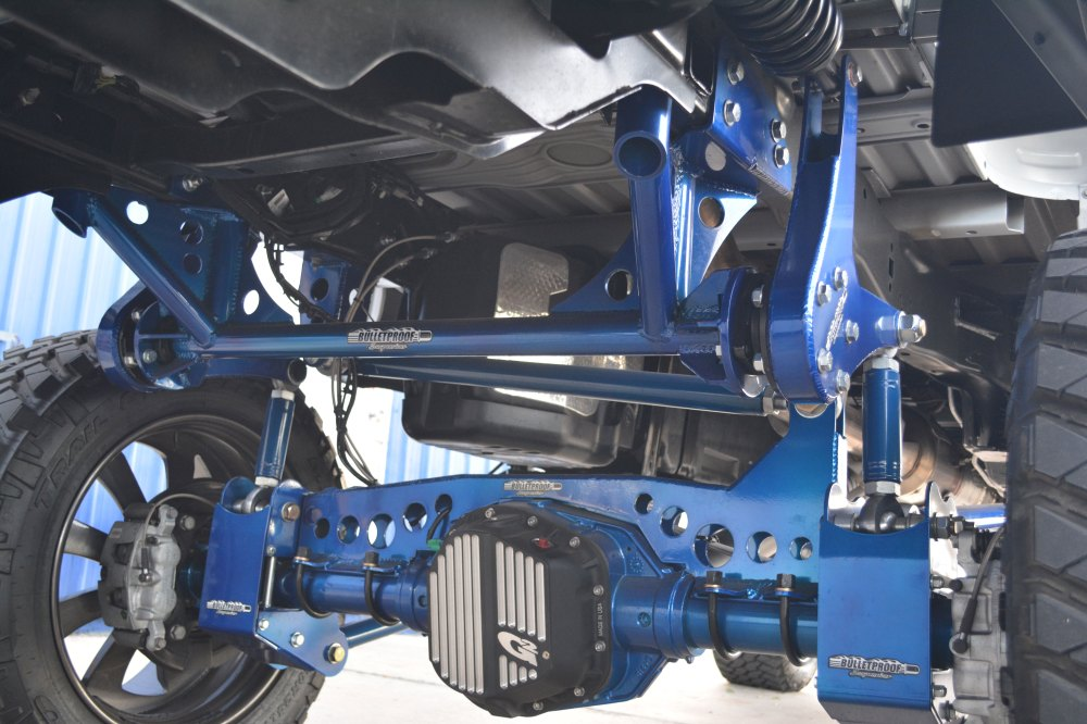 medium resolution of ford f250 f350 4wd 4 link rear cantilever system for 2017 19