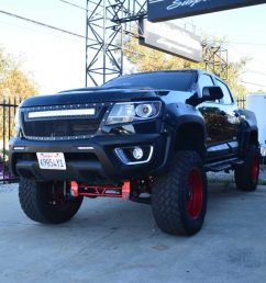 chevy suspension lift chevrolet colorado canyon 6 8 inch lift kit for 2015 up [ 1024 x 946 Pixel ]