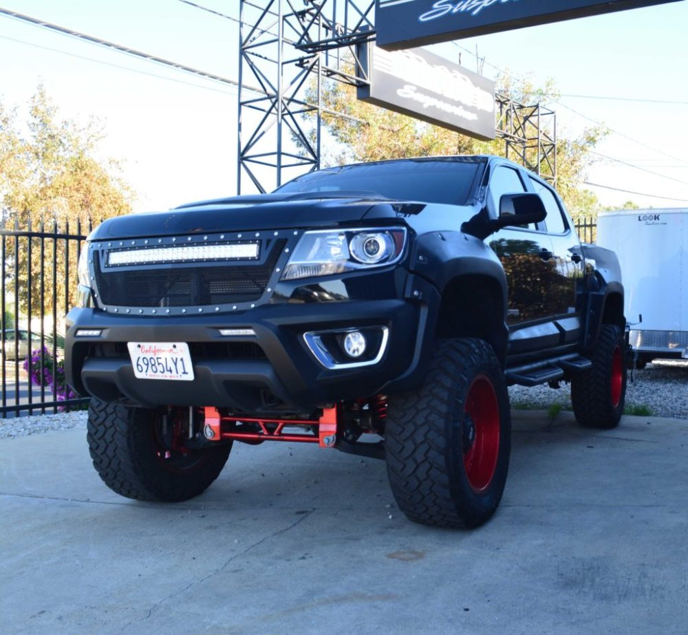medium resolution of  chevy suspension lift chevrolet colorado canyon 6 8 inch lift kit for 2015 up