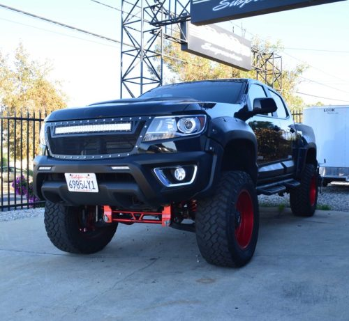 small resolution of  chevy suspension lift chevrolet colorado canyon 6 8 inch lift kit for 2015 up