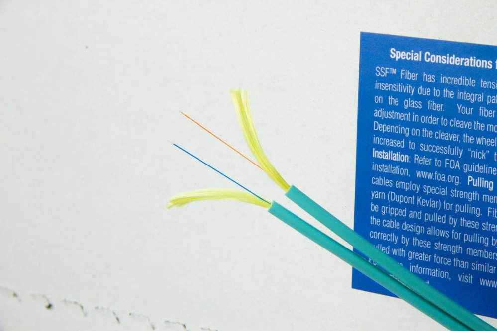 medium resolution of bullet train fiber optic cables employ special strength members such as aramid yarn dupont kevlar for pulling fiber optic cables must be gripped and