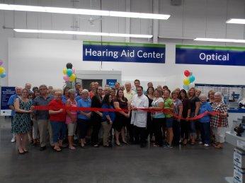 Sams Club Hearing Center Ribbon Cutting-9-11-2015
