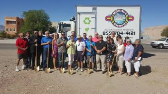 Mohave Shred Ribbon Cutting