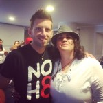 The incredible Jeff Parshley from NOH8 and I