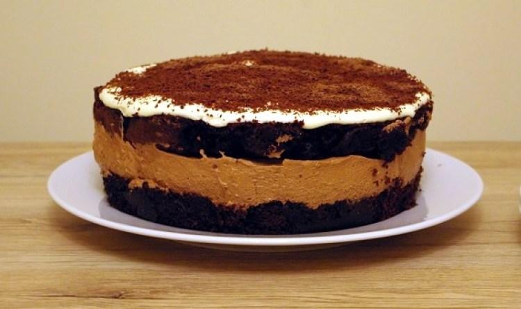 Ciasto czekoladowe z kremem 2