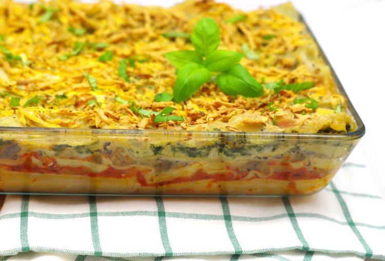 Wegańska lasagne 2