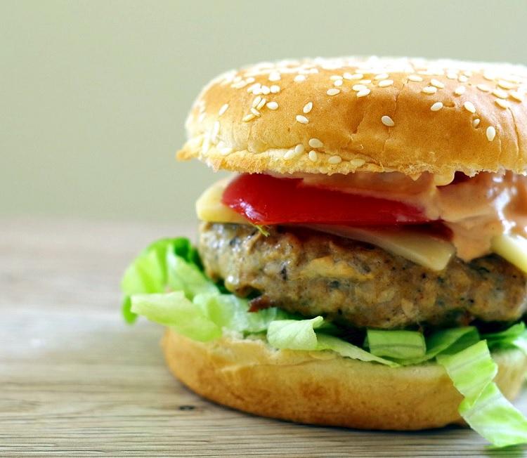 Burger drobiowy 2