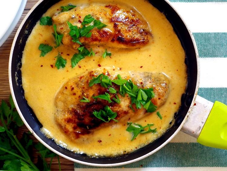 Kurczak w sosie musztardowo-miodowym 2