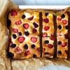 Ciasto ucierane z serem i owocam 4